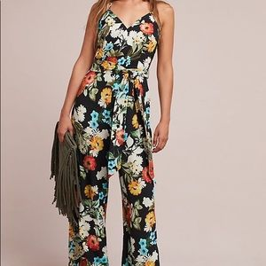 Anthropologie floral jumpsuit by Yumi Kim xs